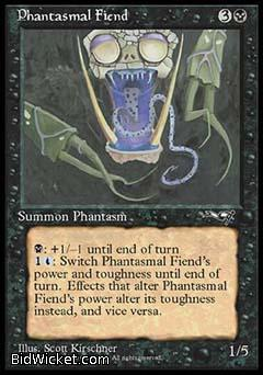 Phantasmal Fiend (2), Alliances, Magic the Gathering
