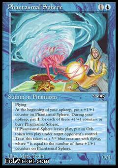 Phantasmal Sphere, Alliances, Magic the Gathering