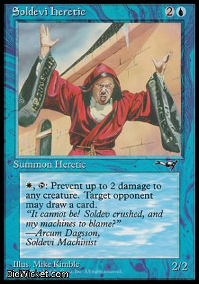 Soldevi Heretic (2), Alliances, Magic the Gathering