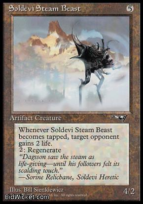 Soldevi Steam Beast (1), Alliances, Magic the Gathering