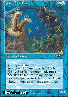 Spiny Starfish, Alliances, Magic the Gathering