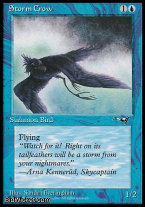 Storm Crow (2), Alliances, Magic the Gathering