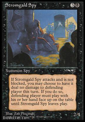 Stromgald Spy, Alliances, Magic the Gathering