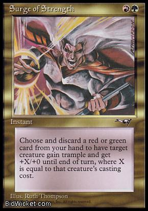 Surge of Strength, Alliances, Magic the Gathering