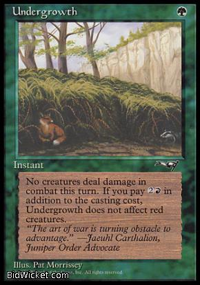 Undergrowth (2), Alliances, Magic the Gathering