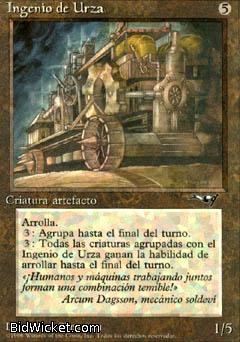 Urza's Engine, Alliances, Magic the Gathering