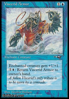 Viscerid Armor (1), Alliances, Magic the Gathering