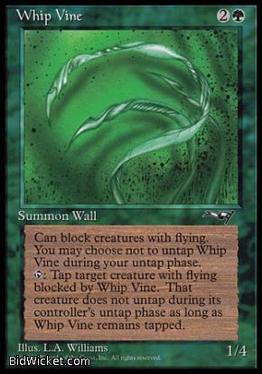 Whip Vine (1), Alliances, Magic the Gathering