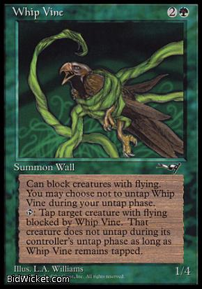 Whip Vine (2), Alliances, Magic the Gathering