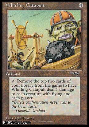 Whirling Catapult, Alliances, Magic the Gathering