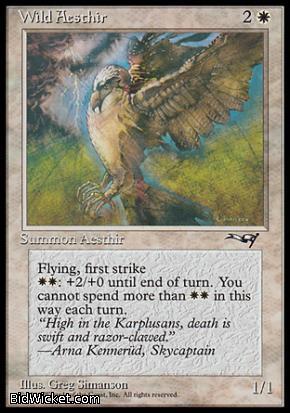 Wild Aesthir (1), Alliances, Magic the Gathering