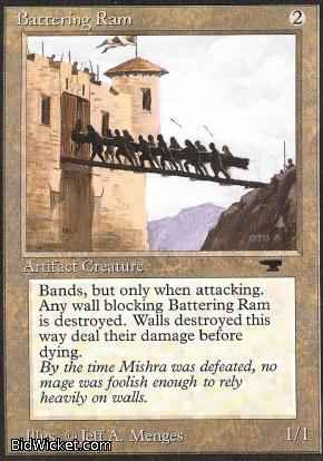 Battering Ram, Antiquities, Magic the Gathering
