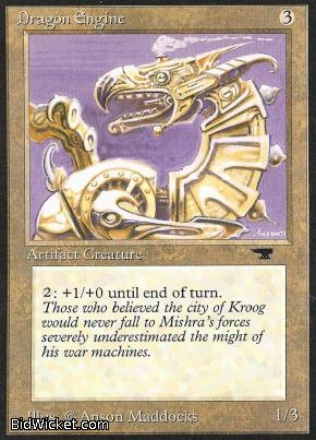 Dragon Engine, Antiquities, Magic the Gathering
