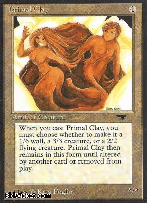 Primal Clay, Antiquities, Magic the Gathering