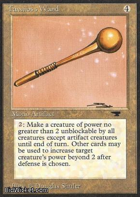 Tawnos's Wand, Antiquities, Magic the Gathering