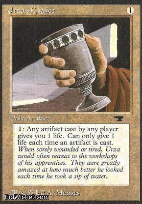 Urza's Chalice, Antiquities, Magic the Gathering