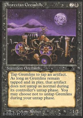 Phyrexian Gremlins, Antiquities, Magic the Gathering