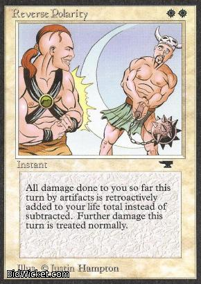 Reverse Polarity, Antiquities, Magic the Gathering