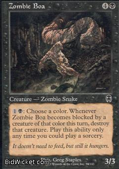 Zombie Boa, Apocalypse, Magic the Gathering