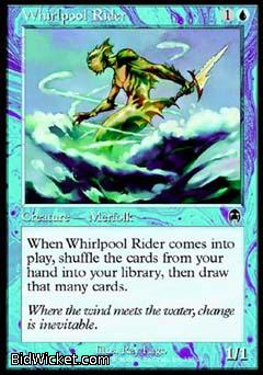 Whirlpool Rider, Apocalypse, Magic the Gathering