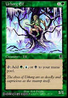 Urborg Elf, Apocalypse, Magic the Gathering