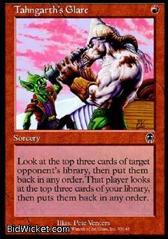 Tahngarth's Glare, Apocalypse, Magic the Gathering