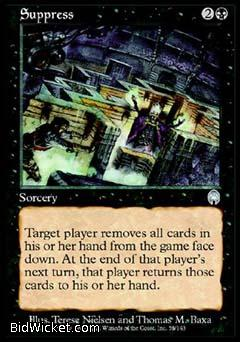 Suppress, Apocalypse, Magic the Gathering