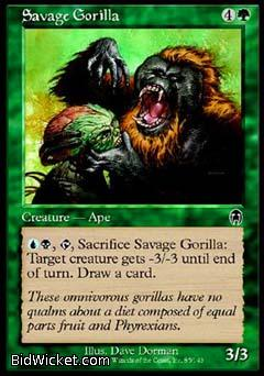 Savage Gorilla, Apocalypse, Magic the Gathering