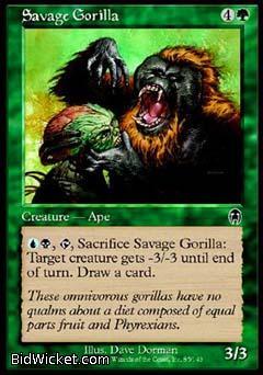 Savage Gorilla, Apocalypse, Magic the Gathering