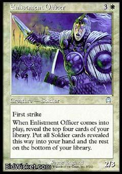 Enlistment Officer, Apocalypse, Magic the Gathering
