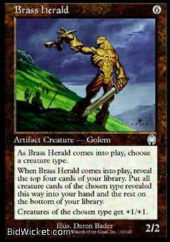 Brass Herald, Apocalypse, Magic the Gathering