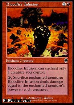 Bloodfire Infusion, Apocalypse, Magic the Gathering