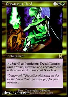 Pernicious Deed, Apocalypse, Magic the Gathering