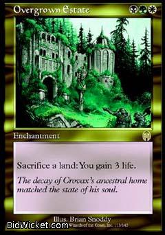 Overgrown Estate, Apocalypse, Magic the Gathering