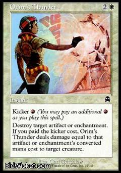 Orim's Thunder, Apocalypse, Magic the Gathering