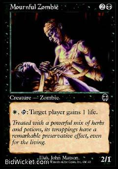 Mournful Zombie, Apocalypse, Magic the Gathering