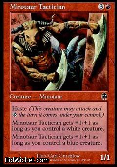 Minotaur Tactician, Apocalypse, Magic the Gathering