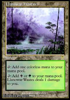Llanowar Wastes, Apocalypse, Magic the Gathering