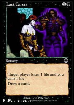 Last Caress, Apocalypse, Magic the Gathering