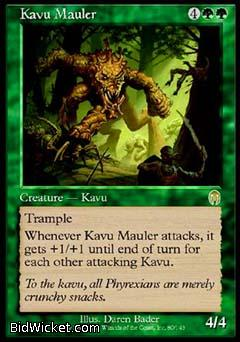Kavu Mauler, Apocalypse, Magic the Gathering