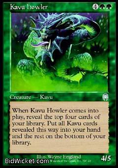 Kavu Howler, Apocalypse, Magic the Gathering