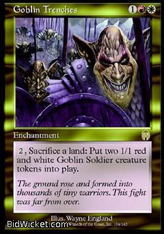 Goblin Trenches, Apocalypse, Magic the Gathering