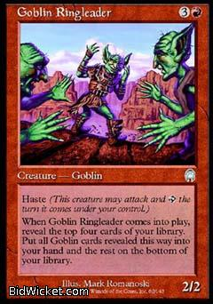 Goblin Ringleader, Apocalypse, Magic the Gathering
