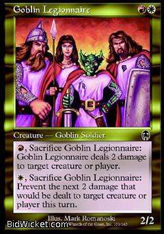 Goblin Legionnaire, Apocalypse, Magic the Gathering