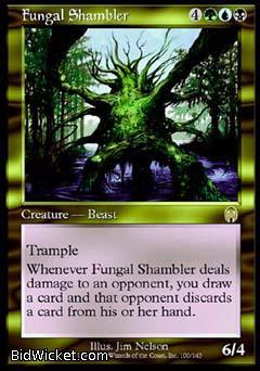 Fungal Shambler, Apocalypse, Magic the Gathering