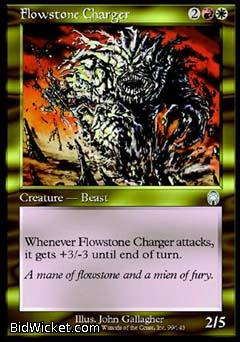 Flowstone Charger, Apocalypse, Magic the Gathering