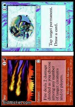 Fire/Ice (Fire), Apocalypse, Magic the Gathering