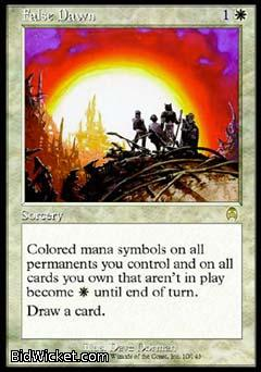 False Dawn, Apocalypse, Magic the Gathering