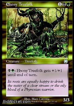 Ebony Treefolk, Apocalypse, Magic the Gathering