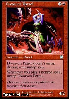 Dwarven Patrol, Apocalypse, Magic the Gathering